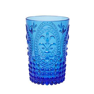 Vintage Fleur Tumblers Blue