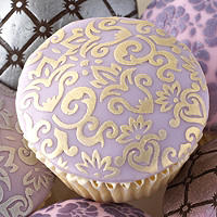 2 Lakeland Ornate Cake Stencils