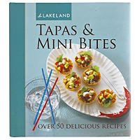 Tapas & Mini Bites Party Recipe Book - 50 Recipes