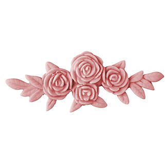 Rose Garland Silicone Icing Mould alt image 1