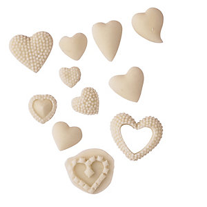 Hearts Silicone Icing Mould