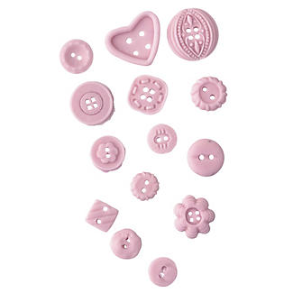 Buttons Silicone Icing Mould alt image 2