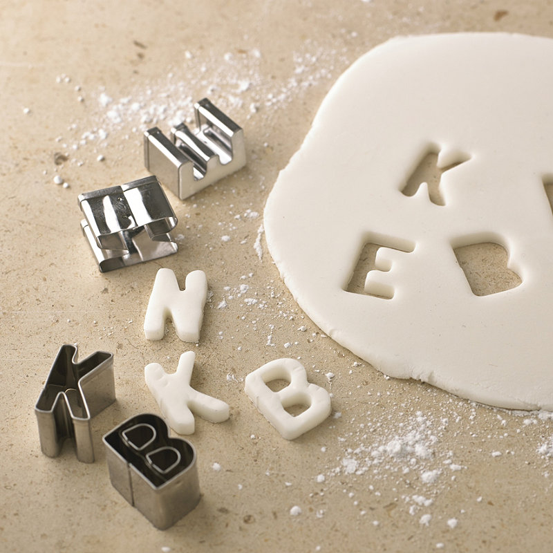 image gallery icing alphabet cutters With icing letter cutters
