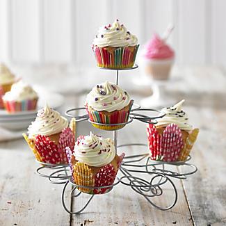 Small Swirly Cupcake Stand