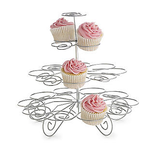 Large Swirly Cupcake Centrepiece Cake Display Stand -