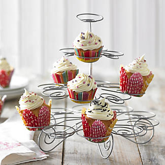 Large Swirly Cupcake Centrepiece Cake Display Stand - Holds 23 Cakes alt image 2
