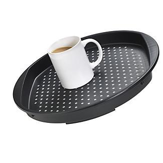 Round Non Slip Tea Serving Tray