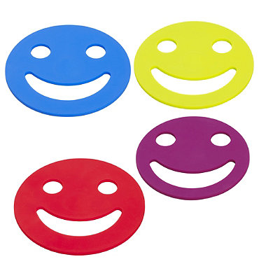 4 Smiling Face Trivets