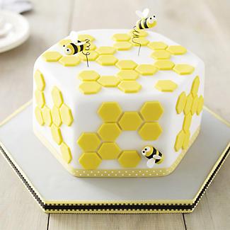 Deep Hexagonal Cakepan alt image 1