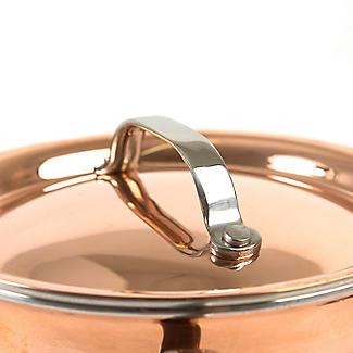 Copper Tri-Ply Mini Casserole Pan 10cm alt image 4