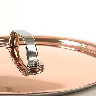 Copper Tri-Ply Saute Pan 24cm alt image 8