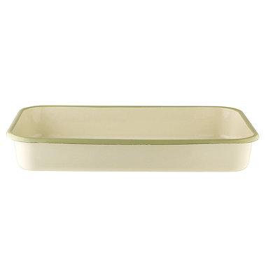 Vintage Enamel Large Pan