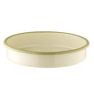 Vintage Enamel Pie Dish