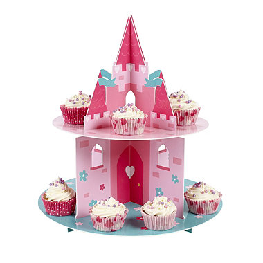 Pretty Princess 2 Tier Cake Stand