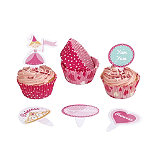 Pretty Princess Cupcake Decoration Kit