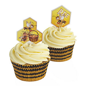 Bumblebee Cupcake Decoration Set