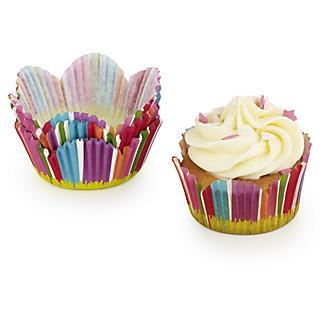 50 Cupcake Carnival Cake Cases