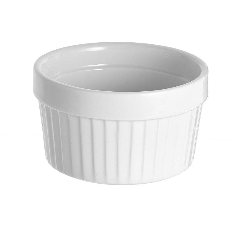 Elegance Porcelain Large White Ramekin