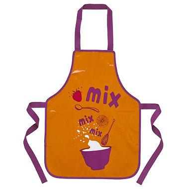 I Can Cook Childrens PVC Apron - Mixing