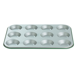 I Can Cook 12 Cup Bun Sheet - Green
