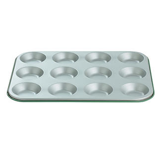 I Can Cook 12 Cup Bun Sheet - Green