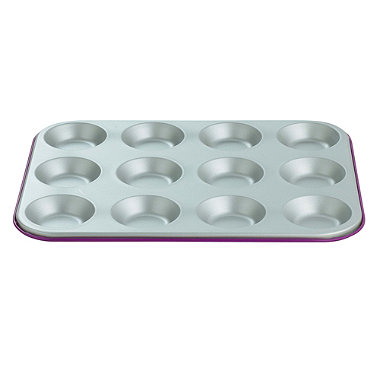 I Can Cook 12 Cup Bun Sheet - Purple