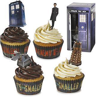 Tardis Cupcake Kit alt image 1
