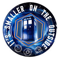 Doctor Who Party Plates