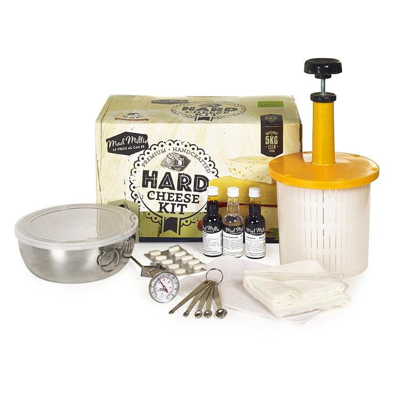 Mad Millie Homemade Hard Cheese Making Kit