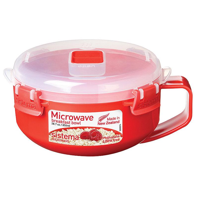 Klip It Microwave Cookware - Red Porridge To
