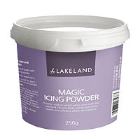 Magic White Icing Powder - 250g For Making