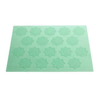 Lace-Look Silicone Icing Mat - Square
