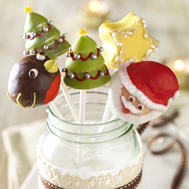 Christmas Cake Pop Mould