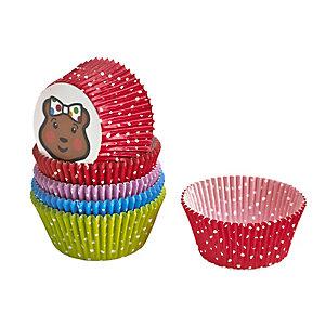 100 Blush Cupcake Cases