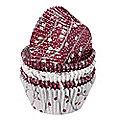 100 Metallic Christmas Cupcake Cases