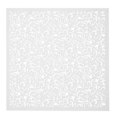 Square Filigree Stencil