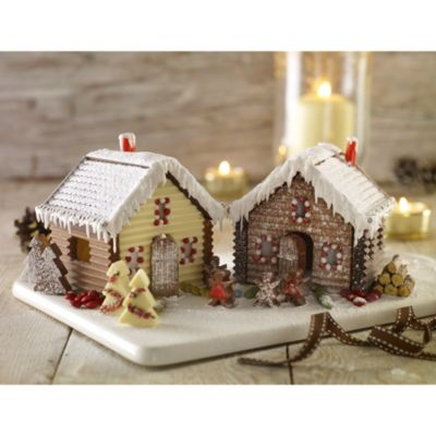 Lakeland Cake Decorating Moulds : Lakeland Fairy Tale Village Chocolate & Gingerbread Gift ...