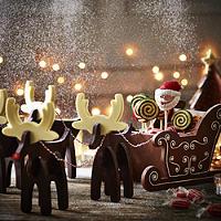 Santa's Sleigh Mould