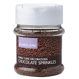 Cake Decorating Sprinkles - 50g Chocolate Vermicelli Strands alt image 1