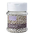Cake Decorating Sprinkles - 65g Silver Balls