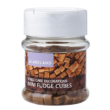 Cake Decorating Sprinkles - 50g Mini Fudge Cubes