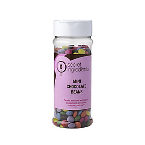 Cake Decorating Sprinkles - 165g Mini Sugar Coated Chocolate Beans