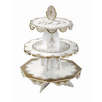 Party Porcelain 3-Tier Cake Stand