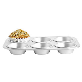 Delia Online 6 Cup Muffin Tray