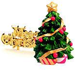 Christmas Tree Topper & Motto