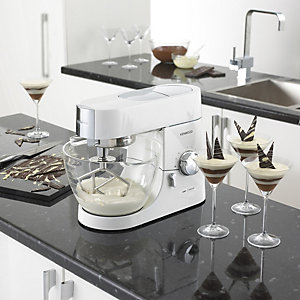 Kenwood Chef Titanium Piano White Limited Edition