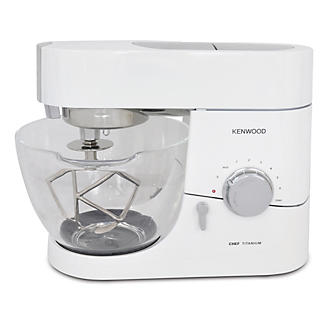 Kenwood Chef Titanium Piano White Limited Edition alt image 2