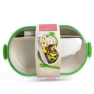 Leak-Proof Lunch Box with Compartments Small 650ml alt image 1