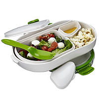 Lakeland Lunchbox mit separaten Fächern, Groß 900 ml