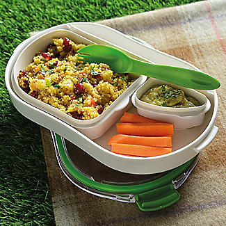 Leak-Proof Lunch Box with Compartments Large 900ml alt image 5